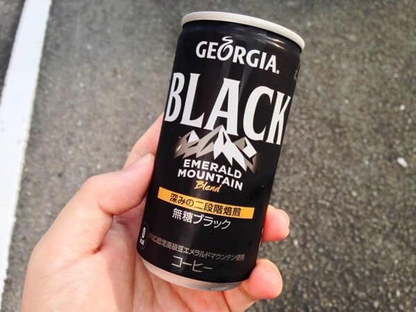 ジョージア エメラルドマウンテン ブラックをレビュー