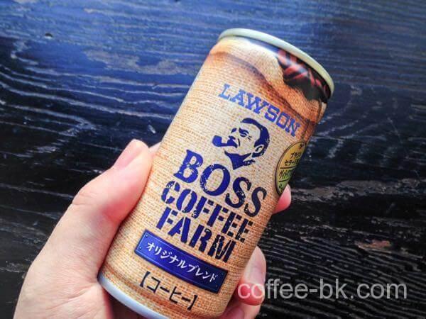 BOSS COFFEE FARM オリジナルブレンド(ローソン限定)をレビュー