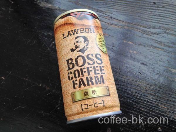 BOSS COFFEE FARM 微糖
