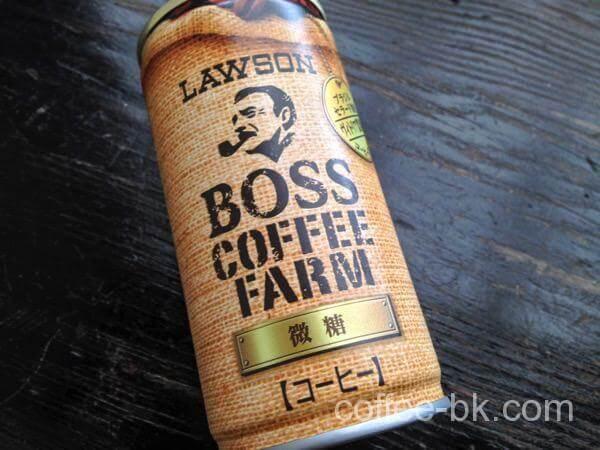 ローソン限定微糖缶コーヒー!『BOSS COFFEE FARM 微糖』をレビュー