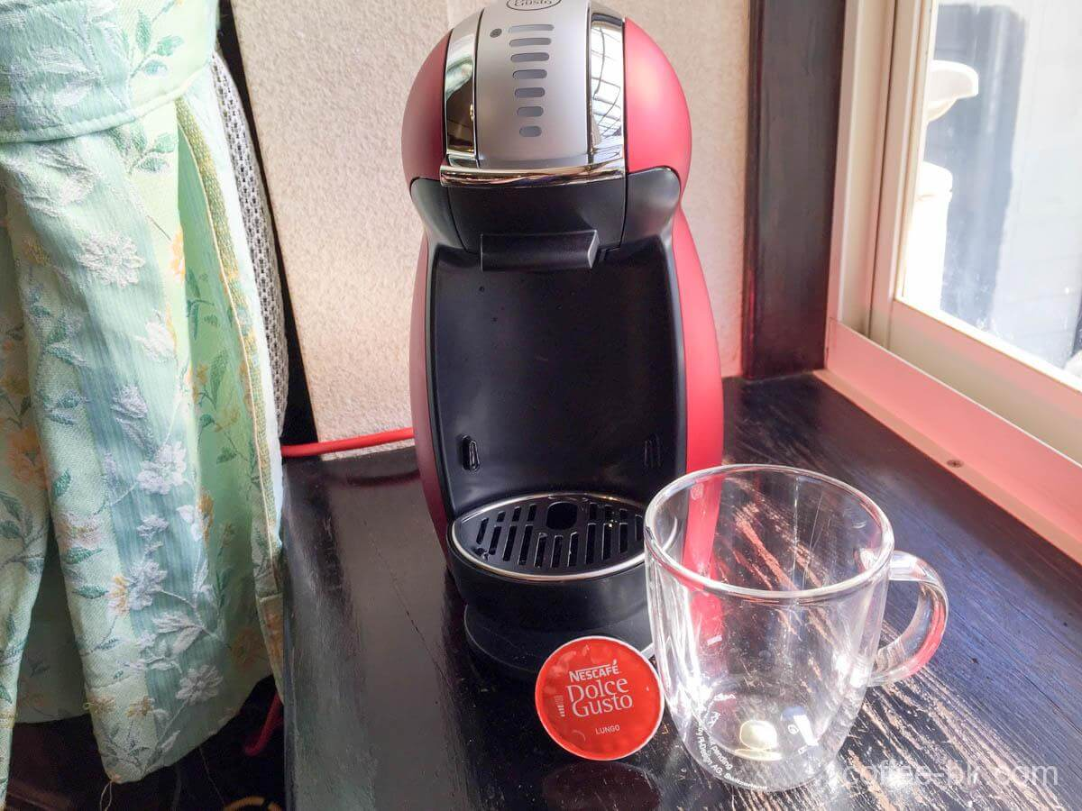 ドルチェグストとカプセル・コーヒーカップ