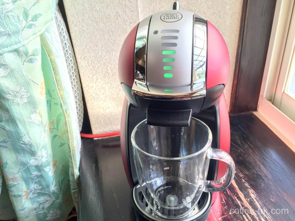 コーヒーグラスをセット