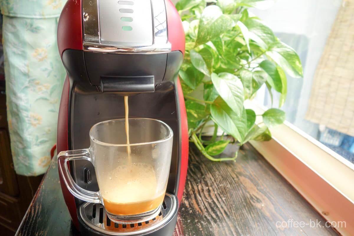 ドルチェグストで淹れるコーヒー