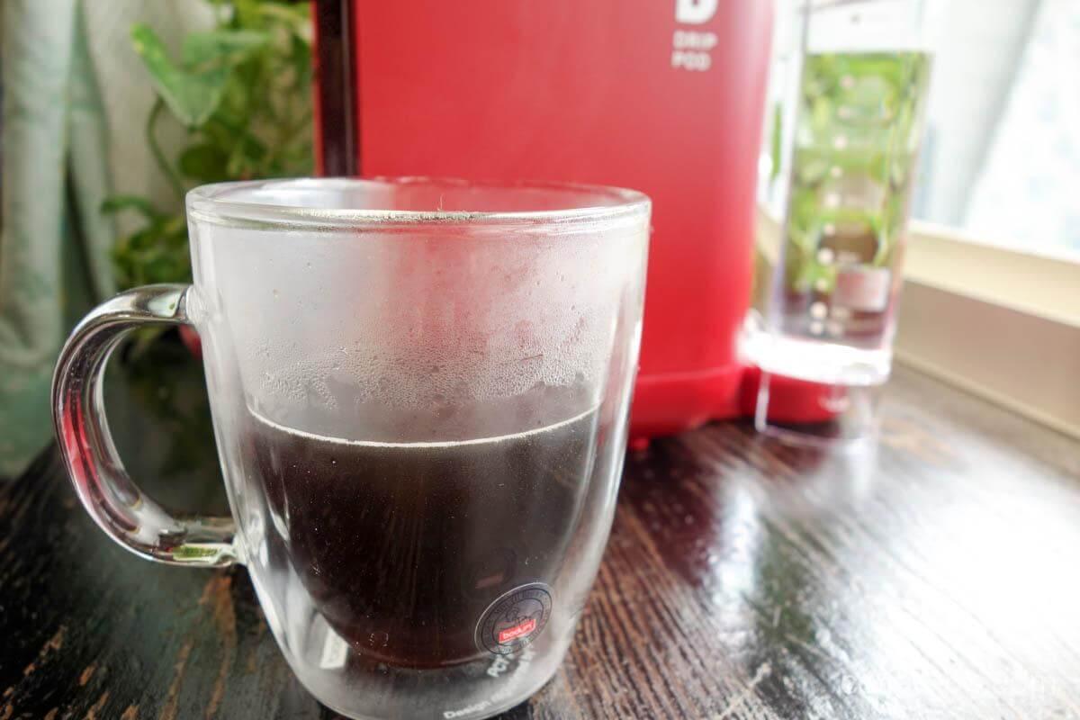 味にこだわったドリップコーヒー専用『ドリップポッド』