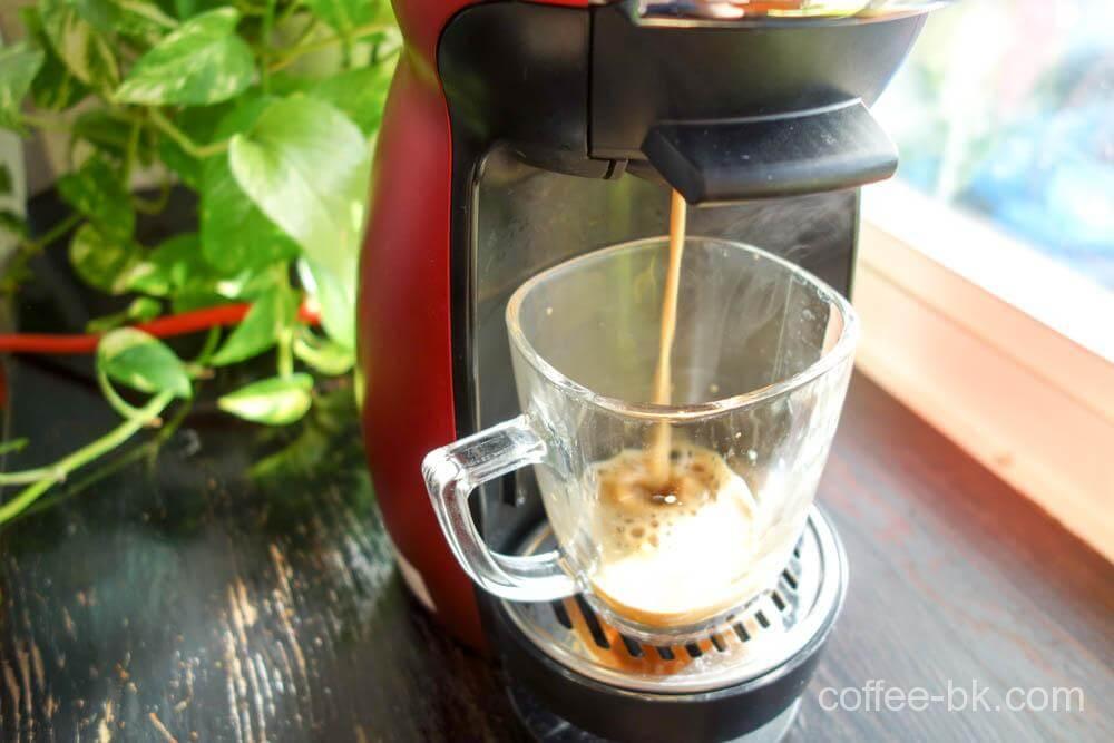 抽出して広がるルワンダコーヒーの香り