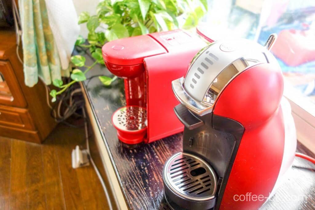 iカプセル式コーヒーの『味』が大きく違うこの2台