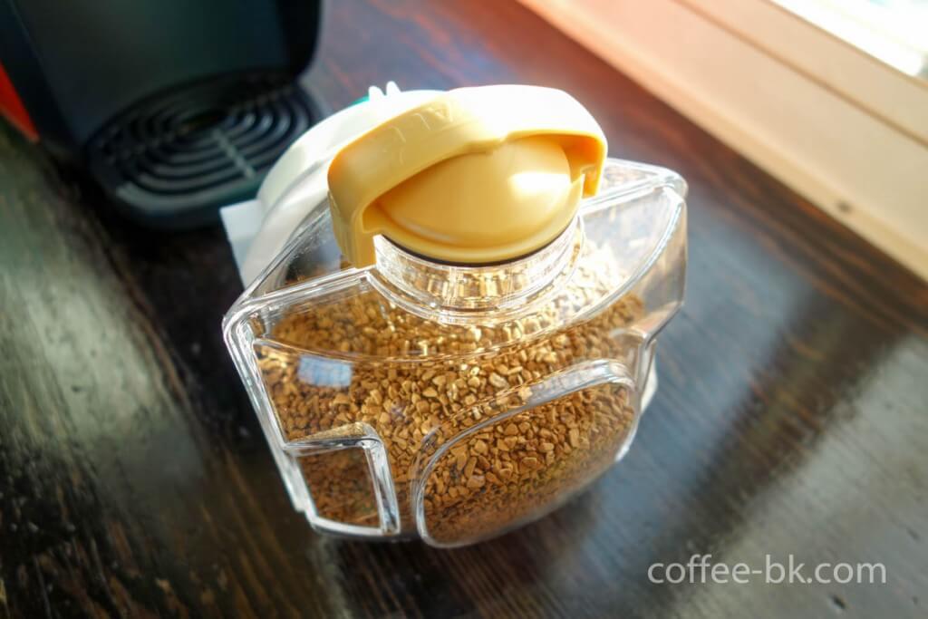コーヒーを移して完了