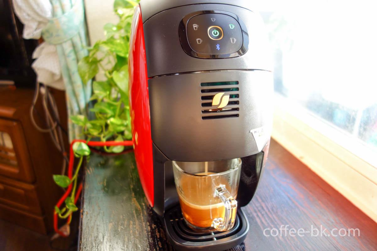 バリスタで淹れるコーヒー