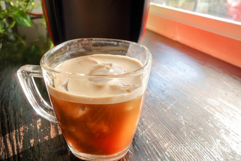 バリスタで作るアイスコーヒー