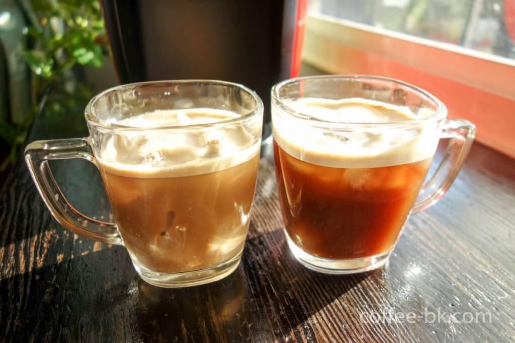 ネスカフェ バリスタで作るアイスコーヒー