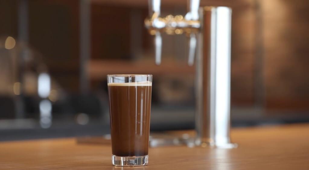 アイスクレマのドラフトコーヒー