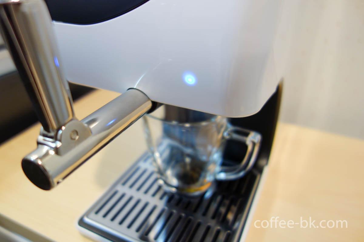 コーヒー冷却完了