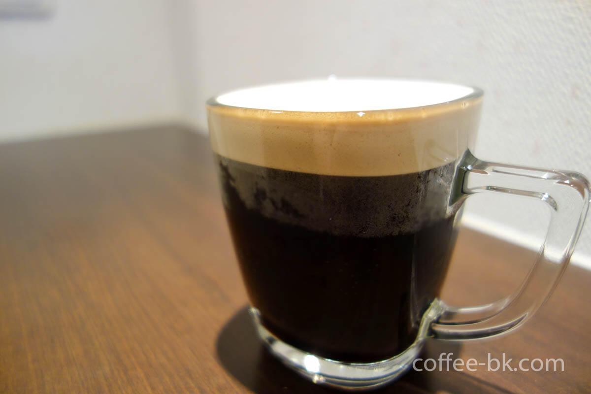 アイスクレマコーヒーが完成