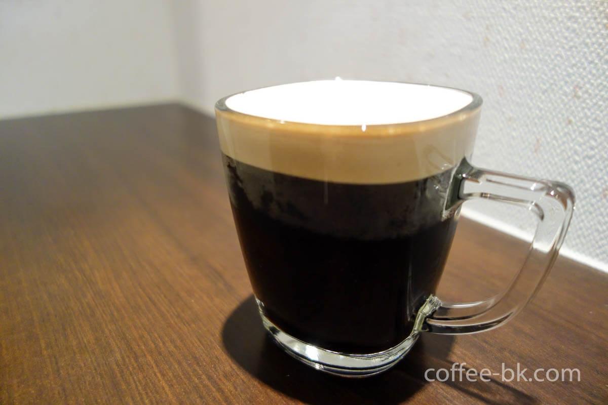 ドラフトコーヒーの完成