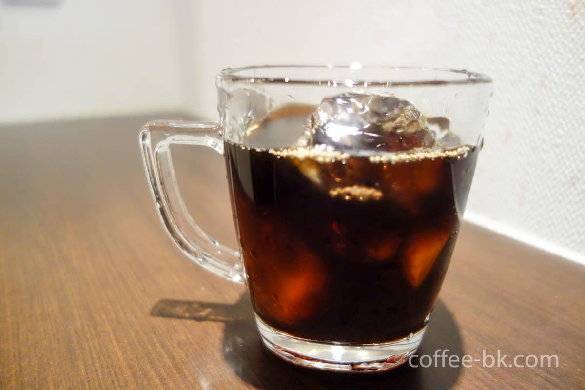 アイスブラックコーヒー完成