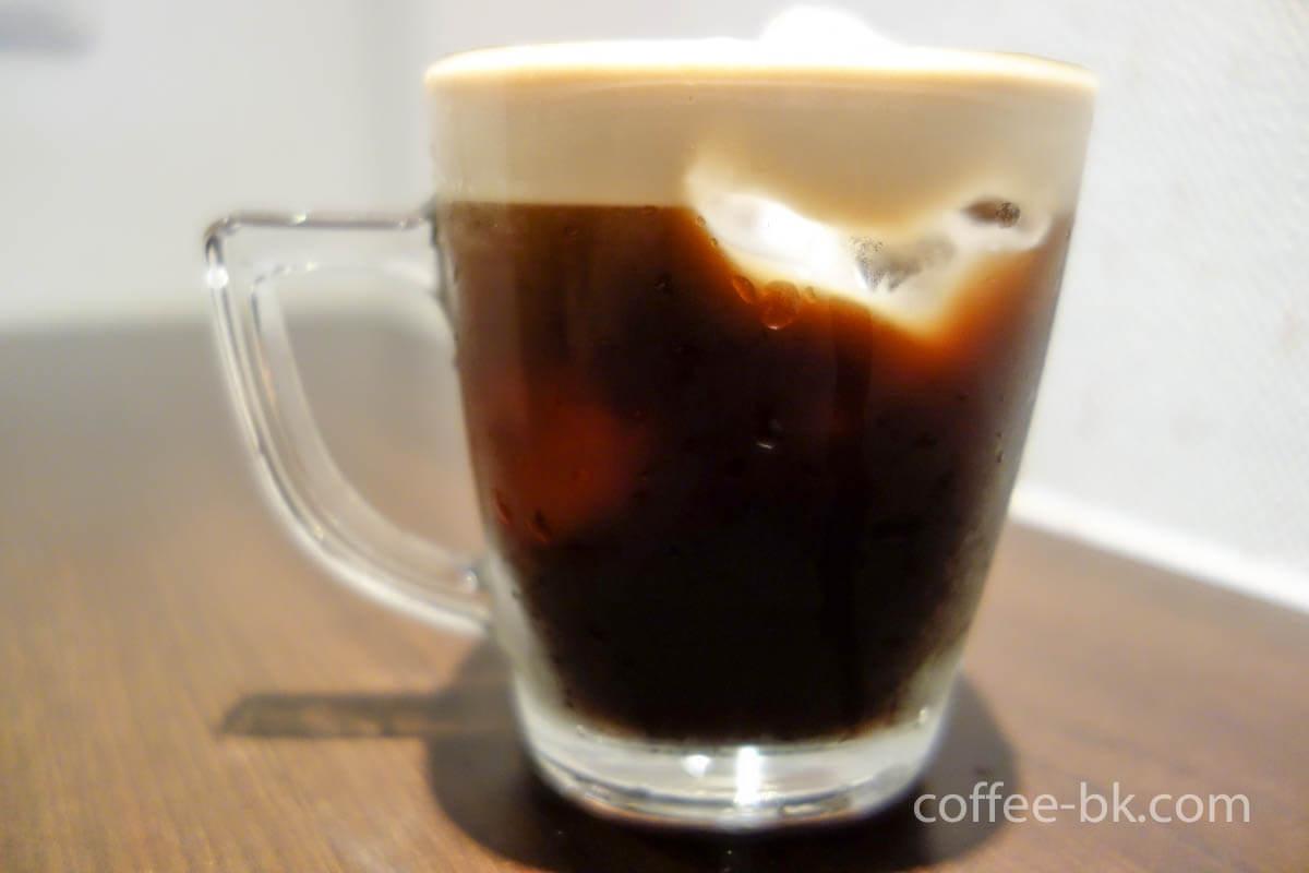 氷入りアイスクレマコーヒー