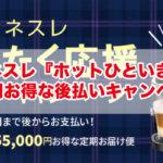 【2019年】ネスレ『冬じたく応援キャンペーン』最大55,000円お得な後払いキャンペーンが開催中!
